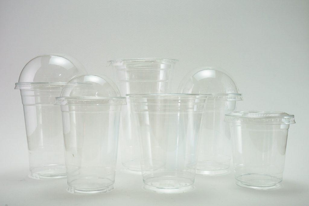 แก้วพลาสติกใส PET