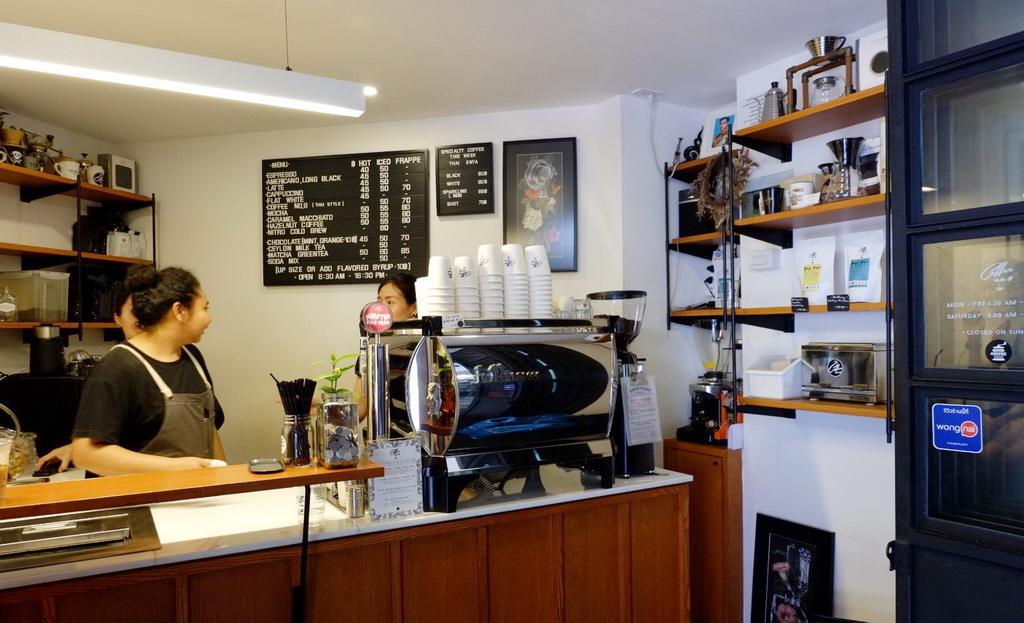 ร้านกาแฟ สไตล์ coffee stand
