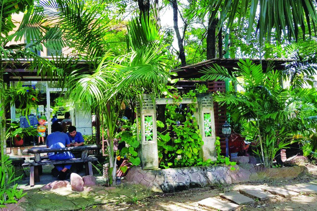 garden coffee บางปู